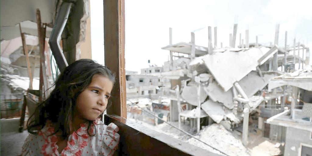 Girl in Gaza (photo: UNICEF)