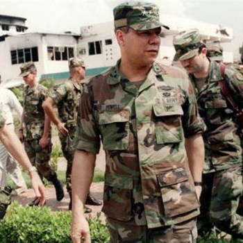 Colin Powell in Panama