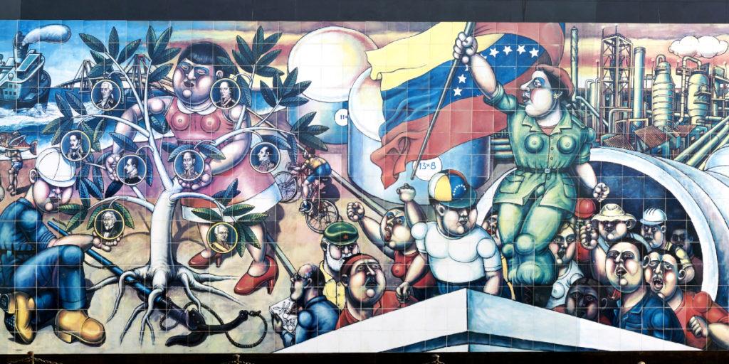 Mural, Maracaibo. Venezuela (detail) (cc photo: RJCastillo/Wikimedia)
