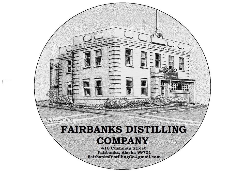 Ray Bonnell's Art at Fairbanks Distillery