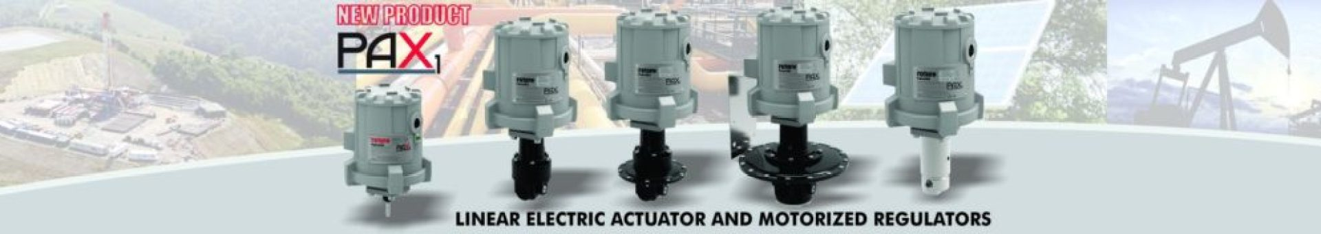 PAX1 Linear Electric Actuator and Motorized Regulator
