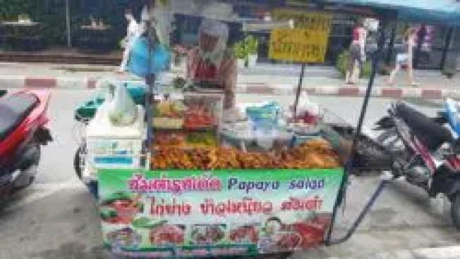 Food stall in Koh Samui