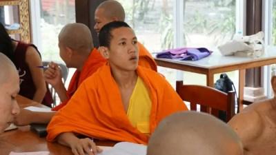 A Laos Monk