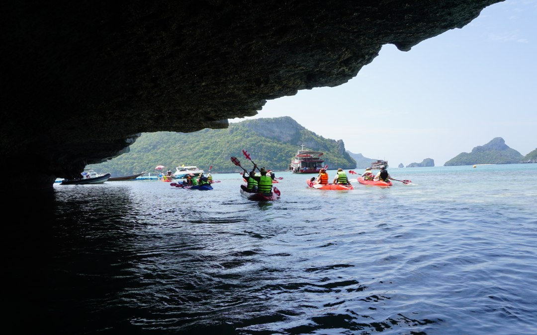 Picture of the Month – Kayaking Ang Thong