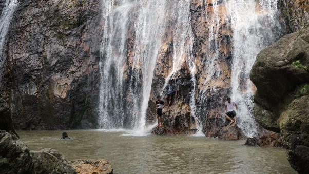 The Na Muang Waterfall at its very best.