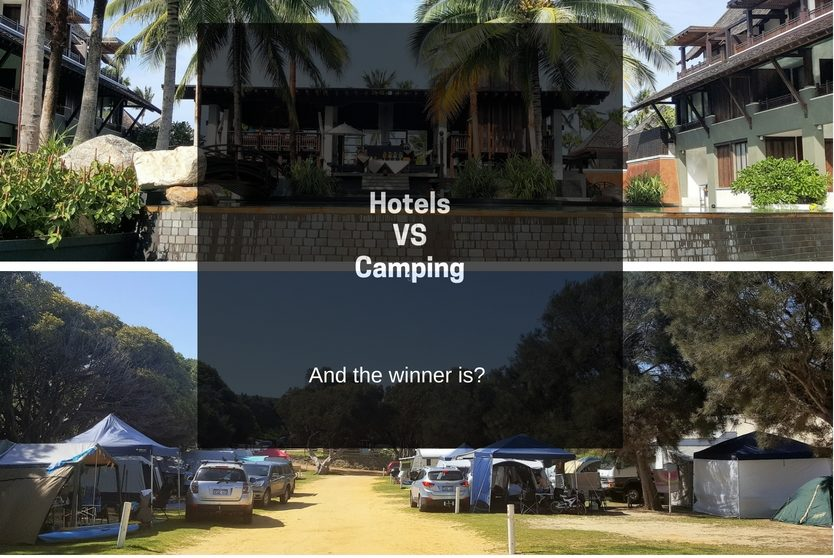 Hotels V Camping: And the winner is