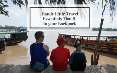 Handy Little Travel Essentials that fit in your Backpack