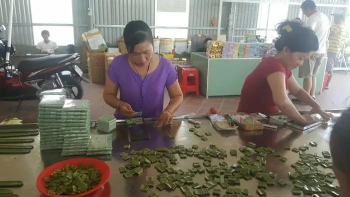 Making candy, Vietnam.