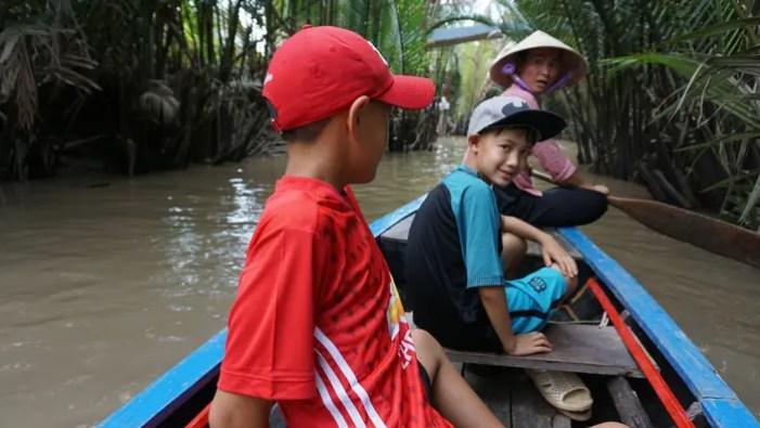 Four Islands Mekong, Vietnam.