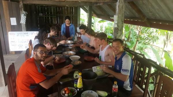 Laos Cooking class