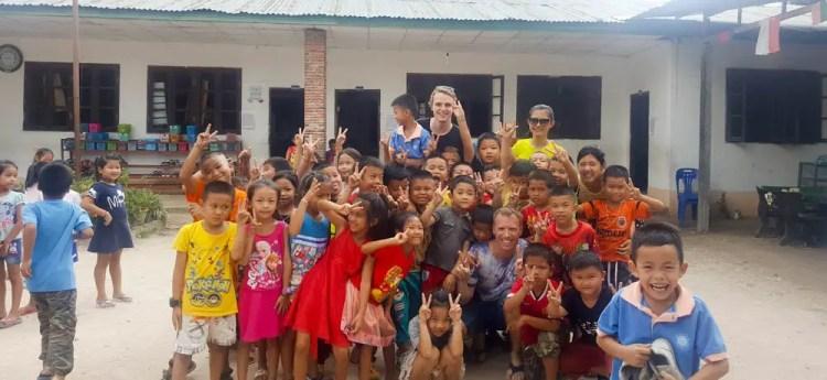 Laos volunteering