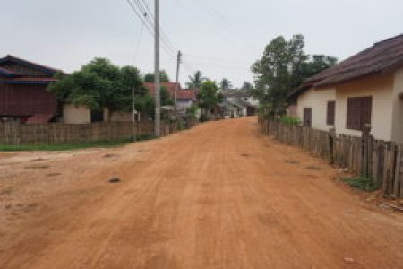 Local Laos Village