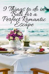 Bali Romance