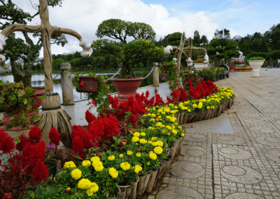 Da Lat flower centre