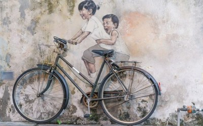 Discover some of the Finest street art in Penang  – Malaysia