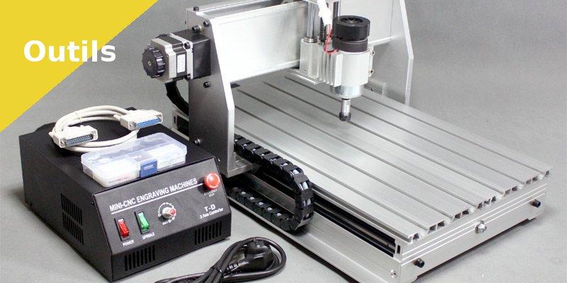 3- Utiliser une CNC