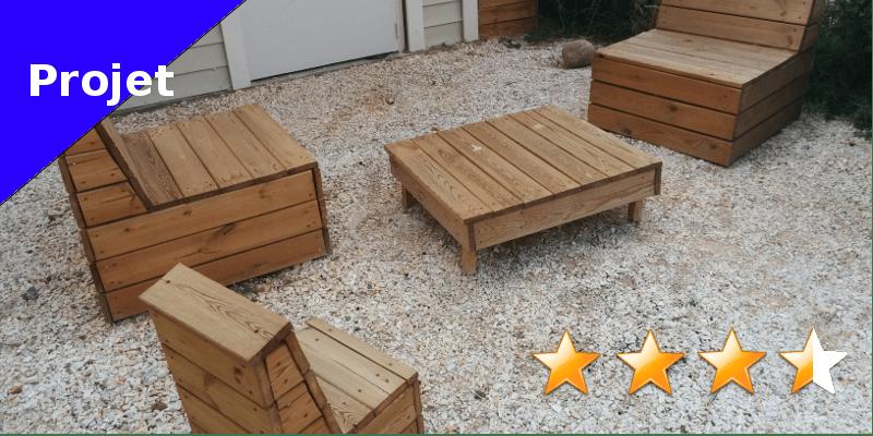 fauteuil de jardin en bois faire soi m me. Black Bedroom Furniture Sets. Home Design Ideas