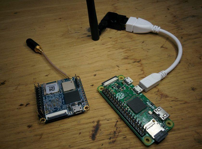 NanoPi + Raspberry PI Zéro