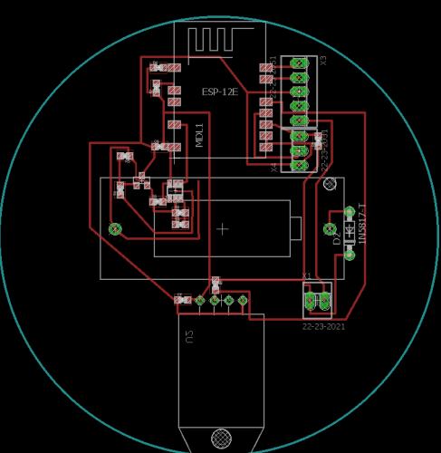 Design_capteur température humidité version 1