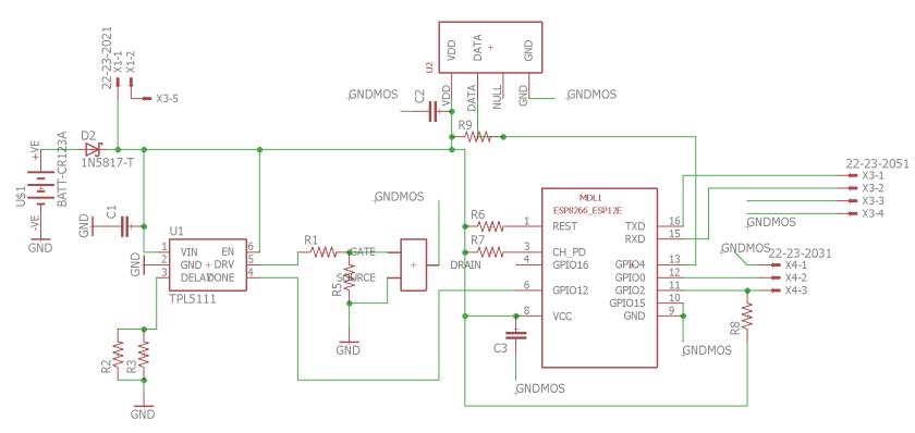 schématique_capteur_température humidité version 1