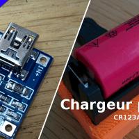 Chargeur USB de batterie Lithium + test du TP4056