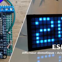 ESPMetric - Afficheur domotique - ESP8266 et Arduino