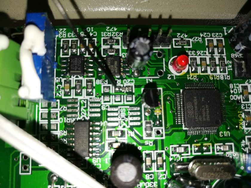 DS18B20 t-962 resistor