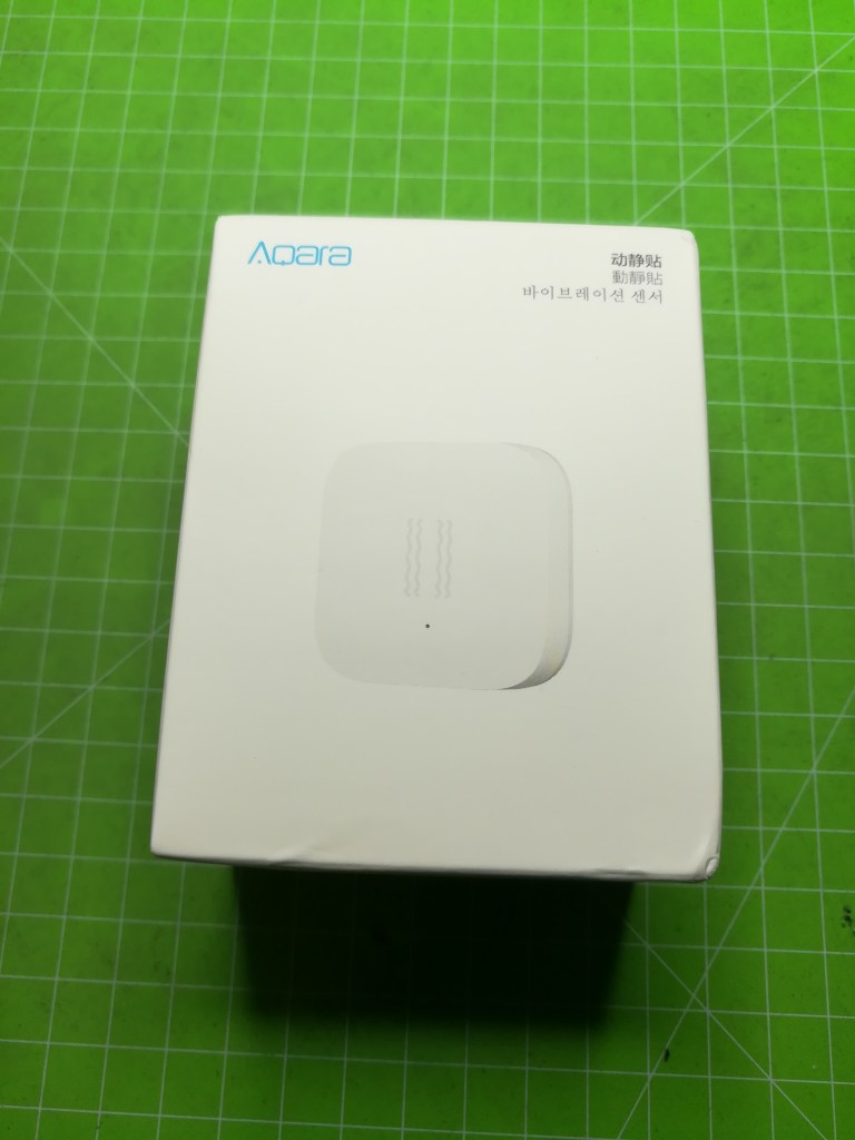 Xiaomi aqara vibration package