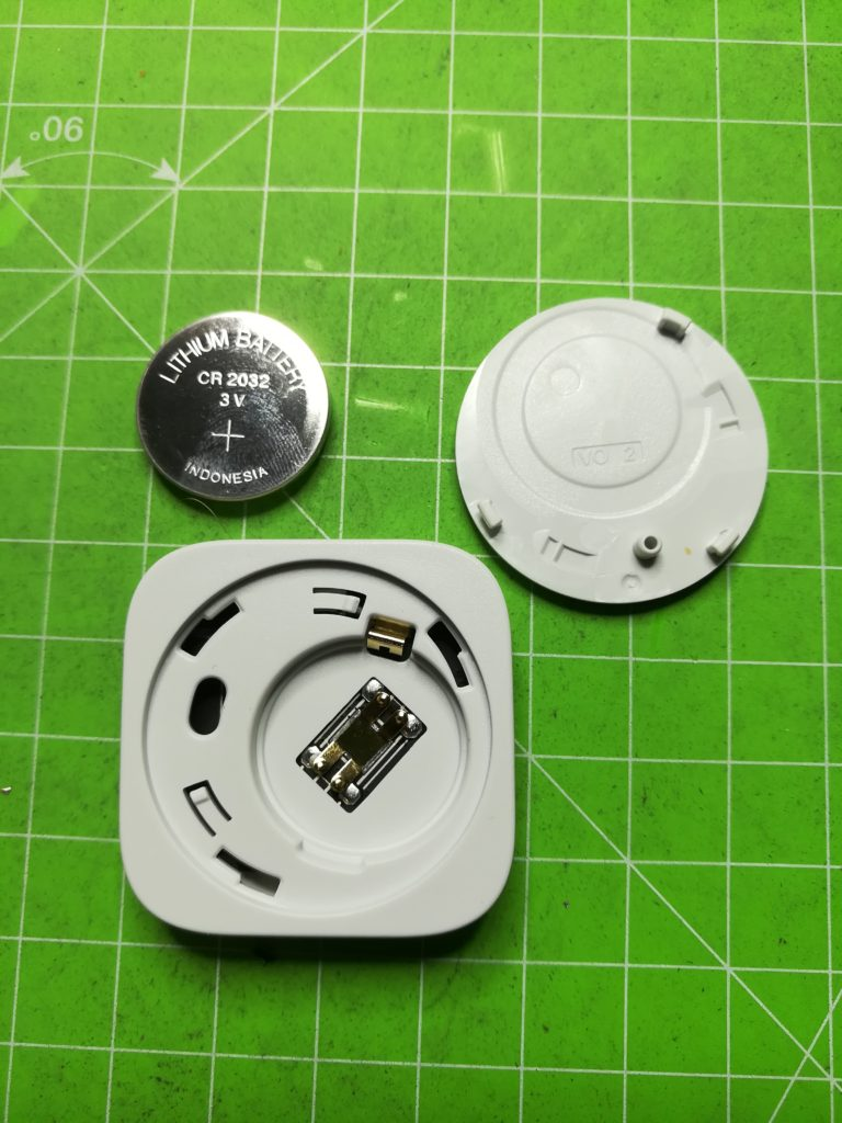 Demontage vibration sensor aqara xiaomi