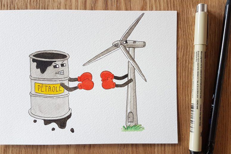 Energie fossile et renouvelable