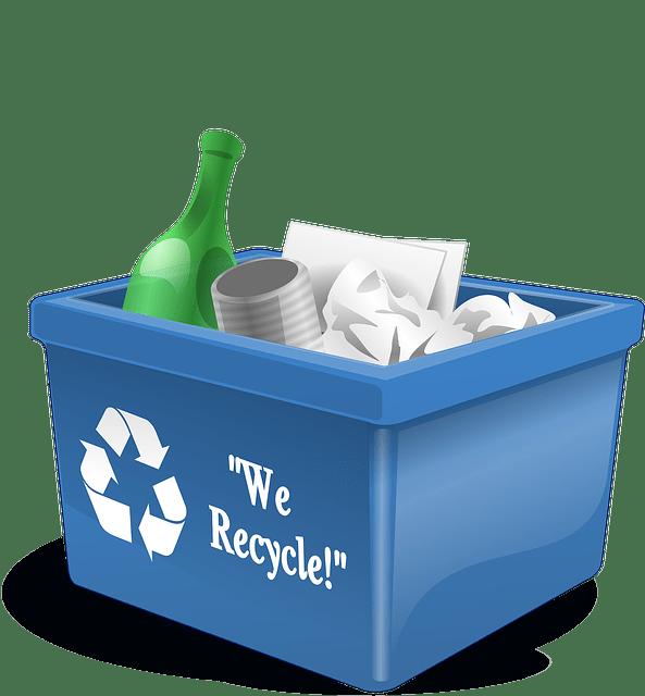 Poubelle recyclage