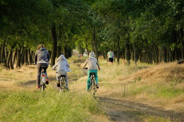Activité thème nature environnement en vélo
