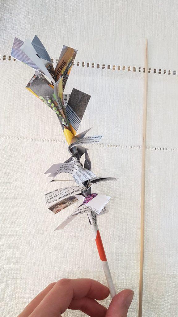 Fleur jacinthe papier