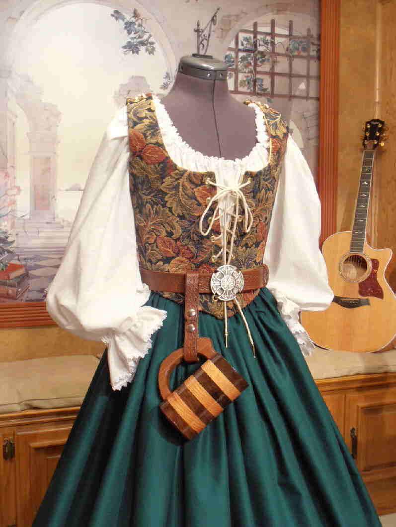Jewel Tone Tapestry Ensemble Faire Finery