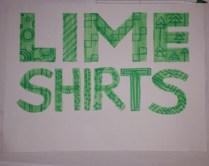 Lime Shirts