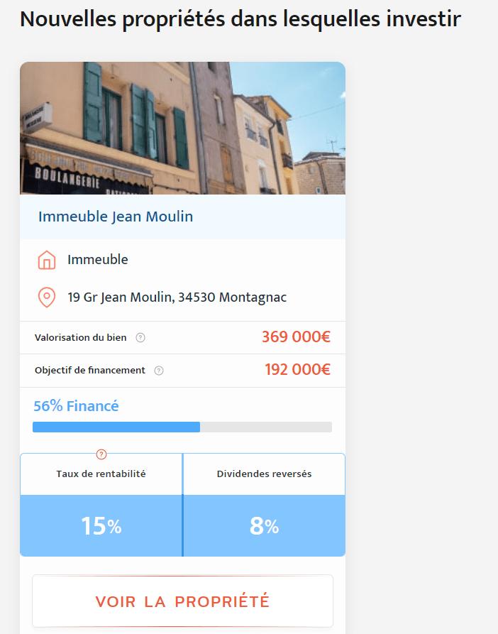 Projet Immeuble Jean Moulin - Bricks.co - 15% de rendement potentiel en crowdfunding immobilier locatif