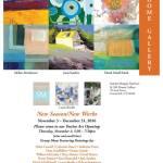"""New Season/New Works"" at Sandra Morgan Interiors & SM Home Gallery"
