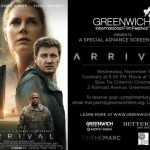 Arrival Complimentary Advance Screening