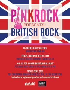 Pink Rock Presents British Rock at Fairfield Theatre Company