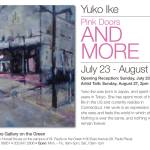 "Yuko Ike's ""Pink Doors and More"" at ARTWorks Gallery on the Green"