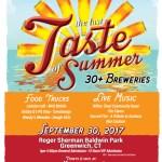 Craft Beer Festival - The Last Taste of Summer at Roger Sherman Baldwin Park in Greenwich
