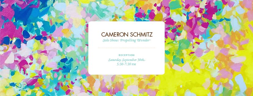 Opening Reception: Cameron Schmitz | Propelling Wonder at The Drawing Room Boutique, Cafe & Art Gallery