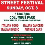Columbus Day Italian Street Festival at Stamford Downtown
