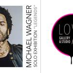 Michael Wagner Solo Exhibition Reception at LOVE ART Gallery and Studio