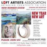 New Member Show Opening Reception at Loft Artists Association