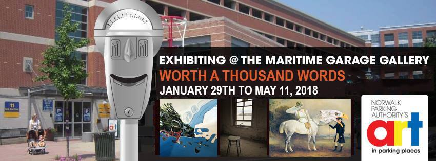 """""""Worth A Thousand Words"""" Exhibition at Maritime Garage Gallery"""