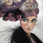 Watercolor Artwork of Olga Klymyk at Rockwell Art and Framing
