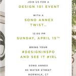 Design 101 with a SONO Annex Twist at Lillian August SONO ANNEX