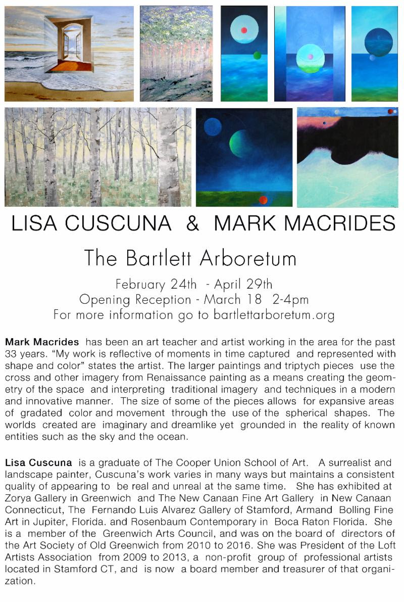 Works by Lisa Cuscuna and Mark Macrides The Bartlett Arboretum
