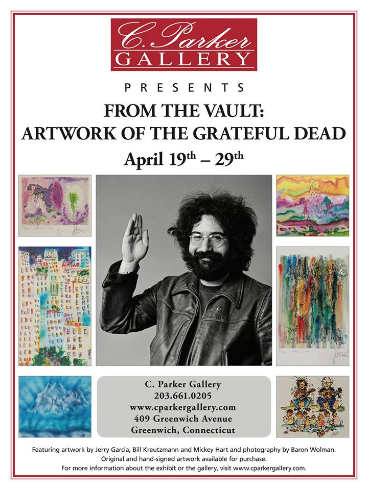 From The Vault: Artwork Of The Grateful Dead at C. Parker Gallery